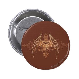 Batman Urban Legends - Brown Bat Wings 6 Cm Round Badge