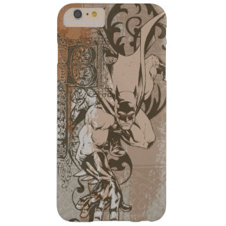 Batman Urban Legends - Dropcap on Wallpaper Barely There iPhone 6 Plus Case