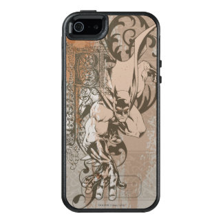 Batman Urban Legends - Dropcap on Wallpaper OtterBox iPhone 5/5s/SE Case