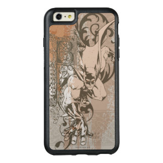 Batman Urban Legends - Dropcap on Wallpaper OtterBox iPhone 6/6s Plus Case