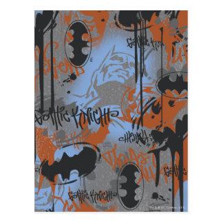 Batman Urban Legends - Gothic Knights Graffiti Postcard