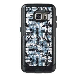Batman Urban Legends - Graffiti Text Blue/ OtterBox Samsung Galaxy S7 Case