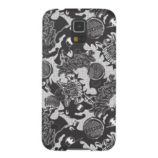 Batman Urban Legends - Graffiti Textile Pattern BW Galaxy S5 Cover