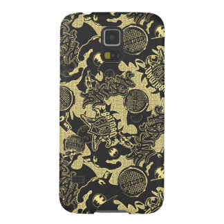 Batman Urban Legends - Graffiti Textile Yellow Galaxy S5 Covers