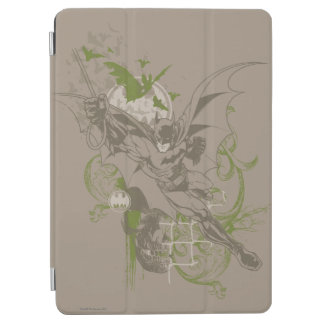 Batman Urban Legends - Green/Taupe Batman Swinging iPad Air Cover