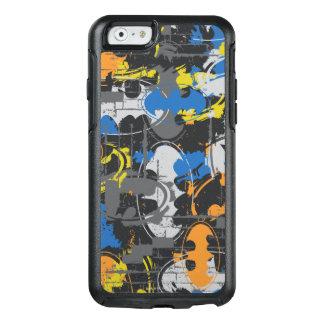 Batman Urban Legends - Grunge Logo Blue/Orange OtterBox iPhone 6/6s Case