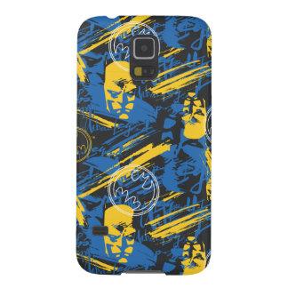 Batman Urban Legends - Head Pattern 2 Blue/Yellow Galaxy S5 Covers
