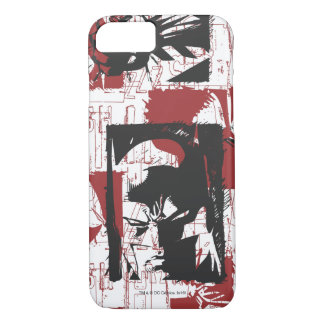 Batman Urban Legends - Mask & Fist Stamp Red iPhone 8/7 Case