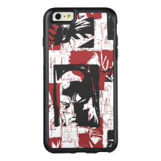Batman Urban Legends - Mask & Fist Stamp Red OtterBox iPhone 6/6s Plus Case