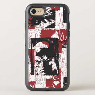 Batman Urban Legends - Mask & Fist Stamp Red OtterBox Symmetry iPhone 8/7 Case