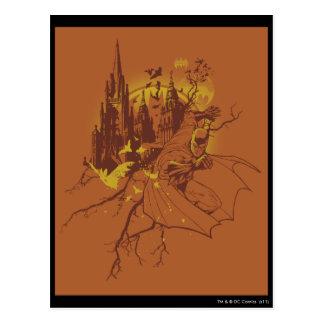 Batman Urban Legends - Orange Moon Rising Postcard