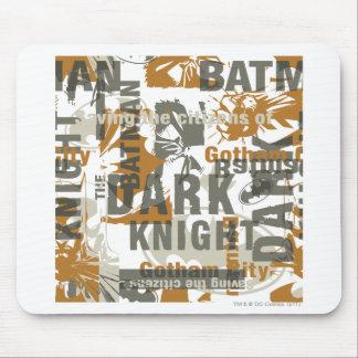 Batman Urban Legends - Saving the Citizens Text Mouse Mat