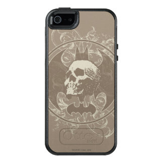 Batman Urban Legends - White/Taupe Skull OtterBox iPhone 5/5s/SE Case