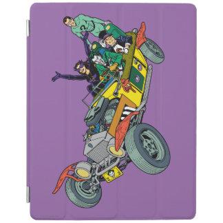 Batman Villains In Jokermobile iPad Cover