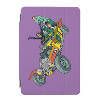 Batman Villains In Jokermobile iPad Mini Cover