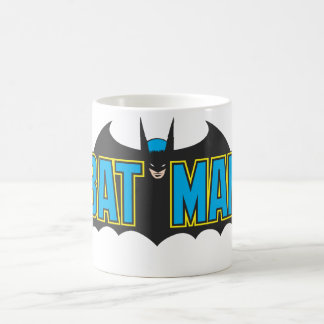 Batman | Vintage Blue Black Logo Coffee Mug