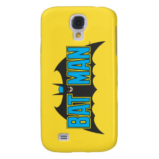 Batman | Vintage Blue Black Logo Galaxy S4 Case