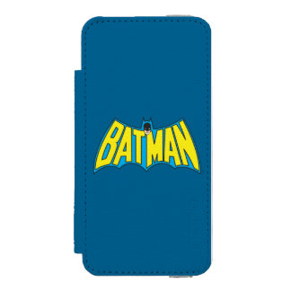 Batman Vintage Logo 2 Incipio Watson™ iPhone 5 Wallet Case