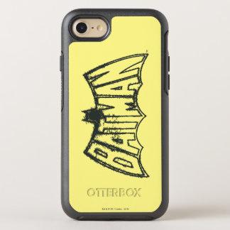 Batman   Vintage Symbol Logo OtterBox Symmetry iPhone 7 Case