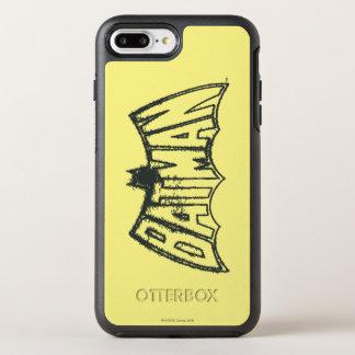Batman   Vintage Symbol Logo OtterBox Symmetry iPhone 8 Plus/7 Plus Case