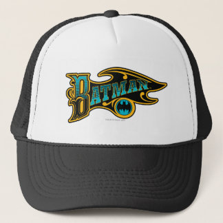 Batman   Vintage Turquoise Logo Trucker Hat