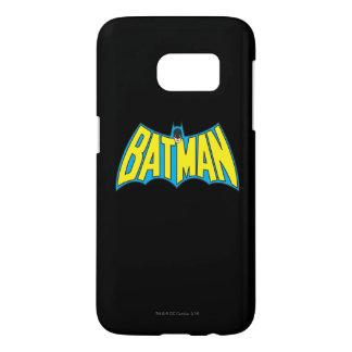 Batman   Vintage Yellow Blue Logo