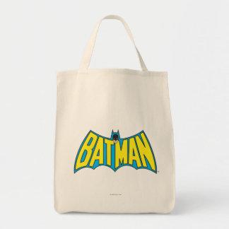 Batman | Vintage Yellow Blue Logo