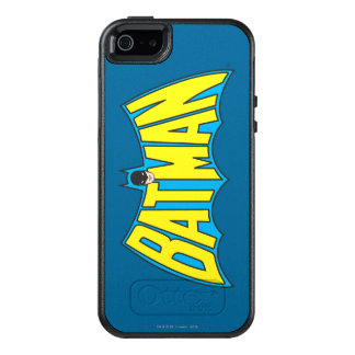 Batman | Vintage Yellow Blue Logo 2 OtterBox iPhone 5/5s/SE Case