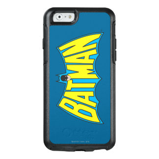 Batman | Vintage Yellow Blue Logo 2 OtterBox iPhone 6/6s Case