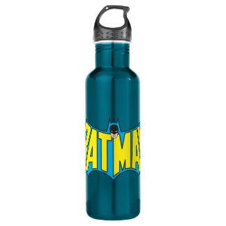 Batman | Vintage Yellow Blue Logo 710 Ml Water Bottle