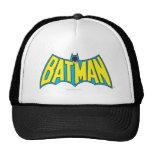 Batman   Vintage Yellow Blue Logo Cap