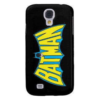 Batman | Vintage Yellow Blue Logo Galaxy S4 Case