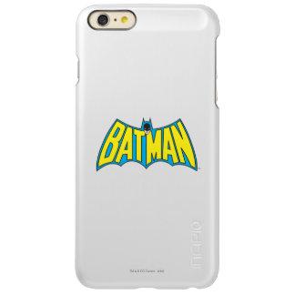 Batman | Vintage Yellow Blue Logo iPhone 6 Plus Case