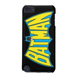 Batman | Vintage Yellow Blue Logo iPod Touch (5th Generation) Cover