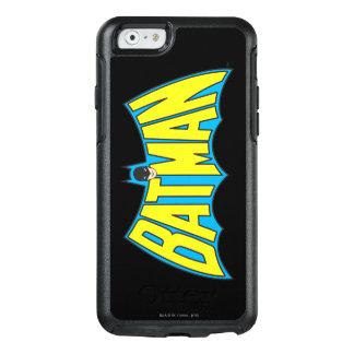 Batman | Vintage Yellow Blue Logo OtterBox iPhone 6/6s Case