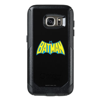 Batman | Vintage Yellow Blue Logo OtterBox Samsung Galaxy S7 Case
