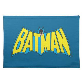 Batman | Vintage Yellow Blue Logo Placemat