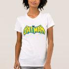 Batman | Vintage Yellow Blue Logo T-Shirt