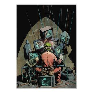 Batman Vol 2 #14 Cover 13 Cm X 18 Cm Invitation Card