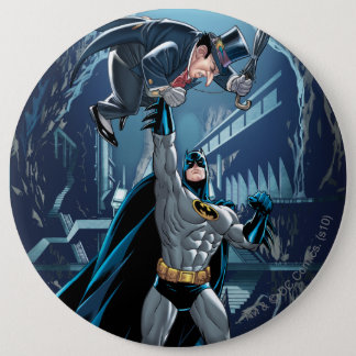 Batman vs. Penguin 6 Cm Round Badge