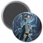 Batman vs. Penguin Refrigerator Magnet