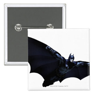 Batman Wings Spread 15 Cm Square Badge