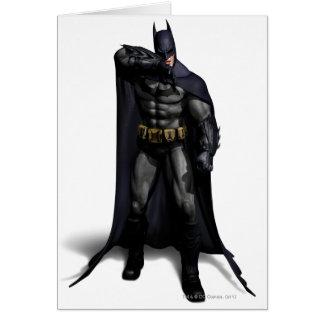 Batman Wiping His Brow Greeting Card