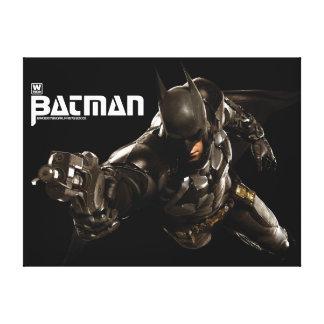 Batman With Batclaw Canvas Print