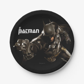 Batman With Batclaw Paper Plate