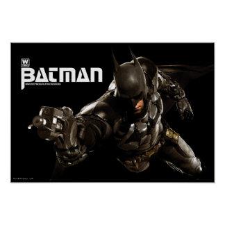 Batman With Batclaw Poster