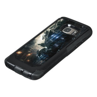 Batman With Batmobile In The Rain OtterBox Samsung Galaxy S7 Case