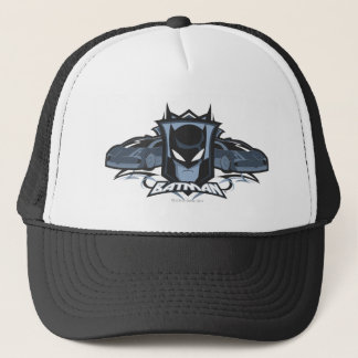 Batman with Batmobiles Trucker Hat