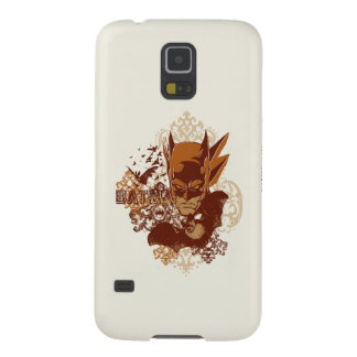 Batman with Bats Collage Cases For Galaxy S5