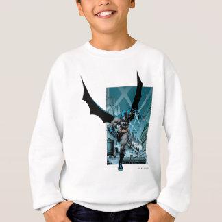 Batman with city background sweatshirt